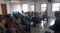 Alunos da Escola Marcelo Gama visitam a Câmara de Vereadores